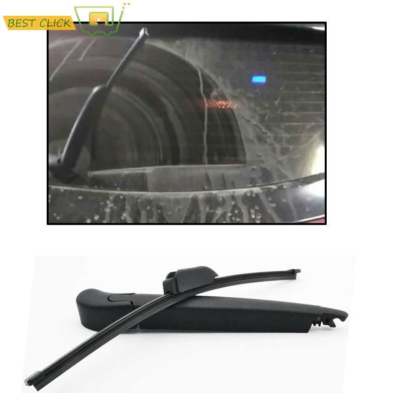 Rear Windscreen Window Windshield Wiper Arm Blade Set Black For ix35 i30 i20 Tucson