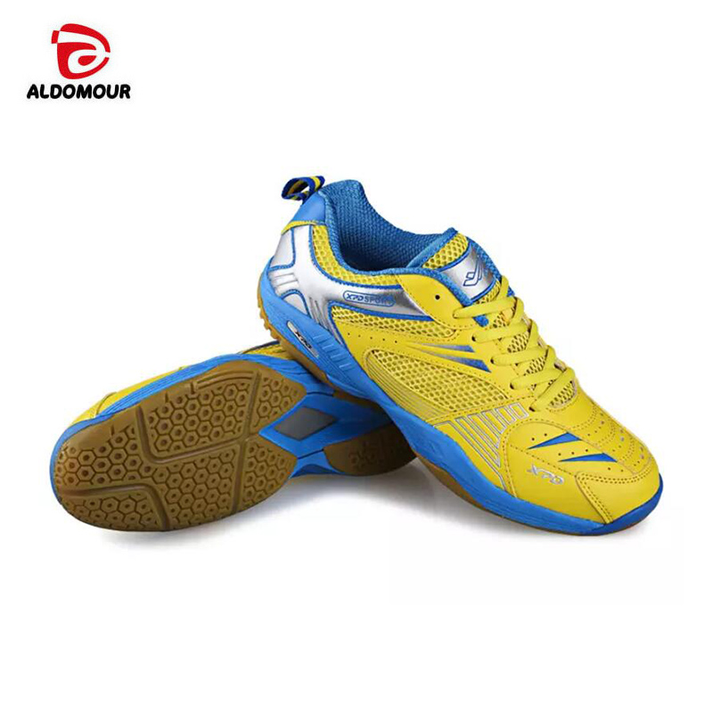ALDOMOUR New 2018 Men Volleyball Shoes Woman Professional Athletic Shoes Badminton Sneakers Anti-slippery And Lightweight Shoes