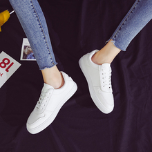 Liren 2019 Summer New Fashion Casual Women Vulcanize Shoes Lace-up Sneakers  Designer