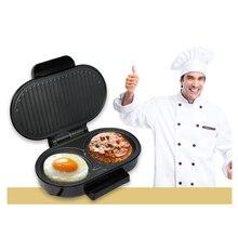 Мини-стейк гамбургерная машина сковорода для яиц сэндвич Панини чайник хлебная печь для завтрака Барбекю электрический гриль жаровня для мяса