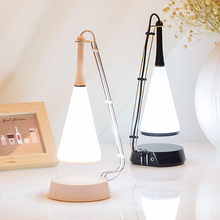 Bluetooth Speaker Bulbs Table Lamp USB Stepless Dimming LED Desk Light Bedside Lamp Auto Sensor Desk Projector Lamp Night Light led desk lamps touch sensitive dimming control colorful bluetooth speaker usb rechargeable music table light