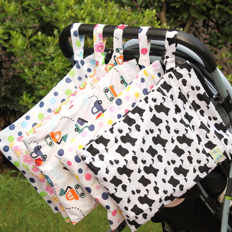 Baby Cartoon Bett Hängen Aufbewahrungstasche Für Baby Mama Doppel  Reißverschluss Polyester Und Wasserdichte Aufbewahrungstasche 30*