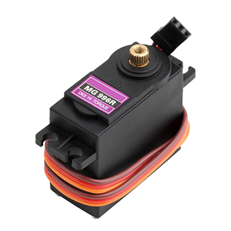 MG996R Metal Gears Digital RC Servo Motor High Torque Helicopter Car Boat Free shipping for Russia