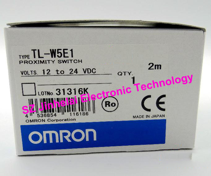 100% New and original TL-W5E1 OMRON  Proximity switch, Proximity sensor  12-24VDC   2M  NPN e2ec c1r5d1 e2ec c3d1 new and original omron proximity sensor proximity switch 12 24vdc 2m