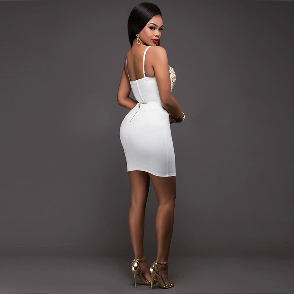 1f12f77530 Amazon Europe Explosion Drilling Sexy Bandage Dress Aliexpress Ebay Hot  Night Dress