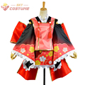 LoveLive! Love Live Wake Up! Girls Nico Yazawa Yukata Kimono Dress Full Set Anime Halloween Cosplay Costumes For Women Custom