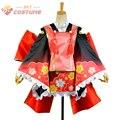 Lovelive! O amor de despertador! De Nico Yazawa Yukata vestido Kimono Set Anime Halloween Cosplay para mulheres