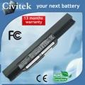 Batería del ordenador portátil para asus x54c x54h x54hr x54hy x54l x54ly portátil a41-k53