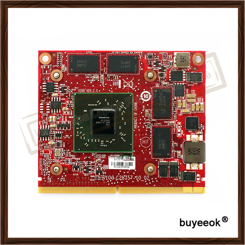 Original HD7650A 215-0803043 Video Card For HP HD 7650A MXM 2GB DDR3 GFX Mobile Graphics Card 671864-002 best for asus a8 series m51 a8j f8s z99 z99d a8sr notebook pc graphics video card ati radeon hd 2400 hd2400 ddr2 mxm drive case