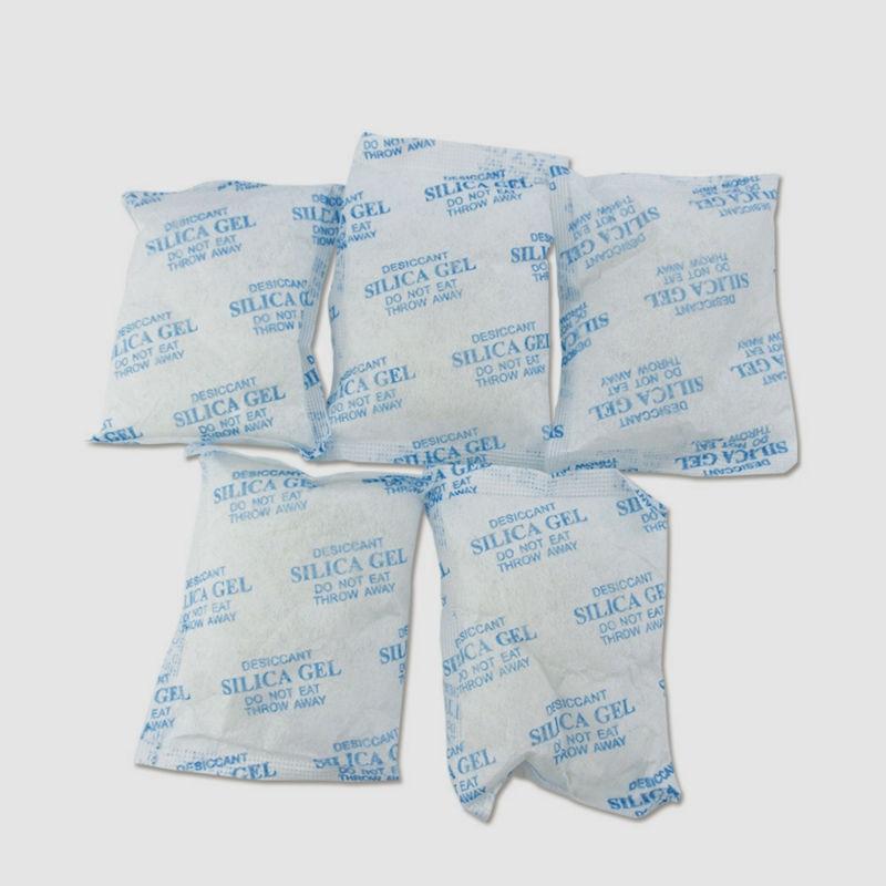 5pcs/lot Silica Gel Desiccant Moisture Absorber 50g/bag Desiccant Silica Gel Packets Reusable Silica Gel Packs Desiccant Bag