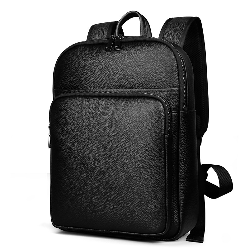 Men Bag Genuine Leather Mens Backpack Male Natural Leather Laptop Computer Bags Waterproof Travel Bag School Bags Free ShippingMen Bag Genuine Leather Mens Backpack Male Natural Leather Laptop Computer Bags Waterproof Travel Bag School Bags Free Shipping