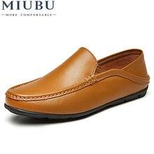 Туфли miubu мужские повседневные натуральная кожа кроссовки