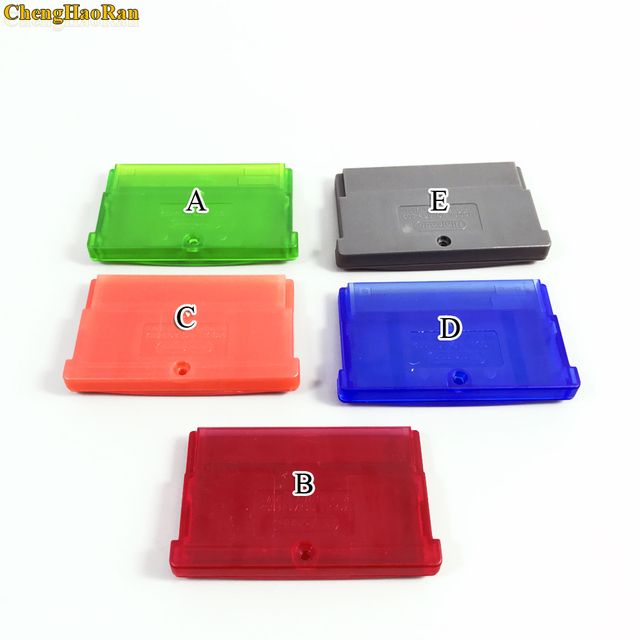 5 colors Replacement Game Cartridge Housing Shell Card Case for GBA