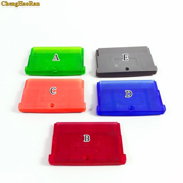 Carcasa de cartucho de juego de reemplazo de 5 colores, carcasa de tarjeta para GBA