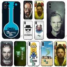 Pattern Breaking Bad Chemistry Walter Phone Cover for iPhone 6 Plus Case 7 XR X 8 5 6S 5S SE Xs Max Covers