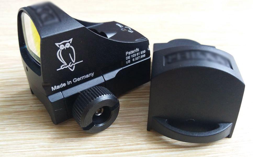 1pc Docter Sight 3 for Triji Style Mini Red dot sight Reflex Holographic Dot Sight Auto Brightness laser sight Gun-scope jj airsoft docter mini red dot sight light sensor black