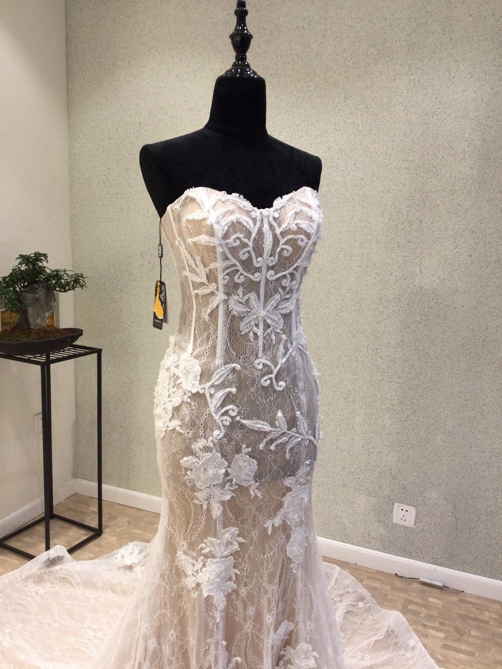 Vintage Luxury Crystal Big Ball Gown Satin Wedding Dress V Neck ...
