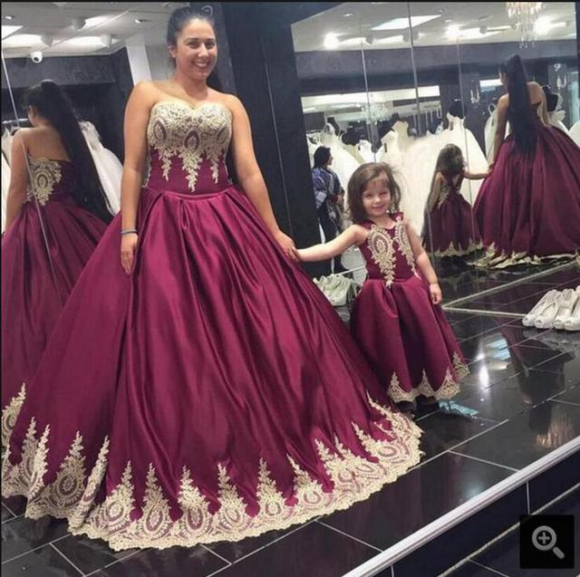 2016 new design ball gown lace appliques prom dress strapless princess  puffy vintage prom dresses elegant free shipping dress f5084100d6da