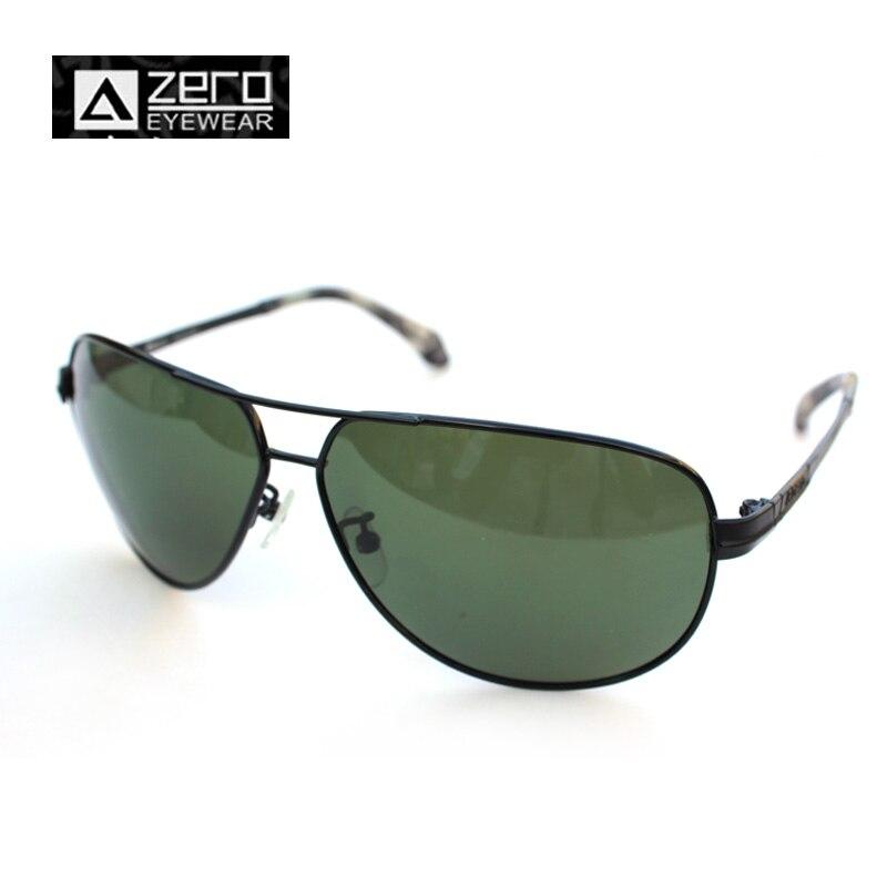Men 3025  Aviator Sunglasses Brand Designer Classic Man Sunglasses Gun Alloy Frame Retro Gray-Green Lens A ZERO Z50