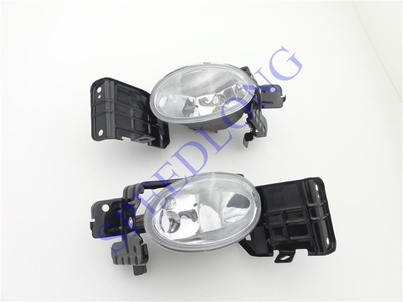 2 Pcs/Pair Without bulbs RH and LH Front Fog Lamps bumper fog lights for Honda Accord Crosstour 2010 1pair rh and lh front fog lights bumper driving lamps without bulbs for honda accord sedan 1998 2002