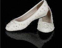 Elegant Wedge Heel Wedding Bridal Shoes Bridesmaid Shoes Big Size 34 44 Wedge Heel Comfortable Lady