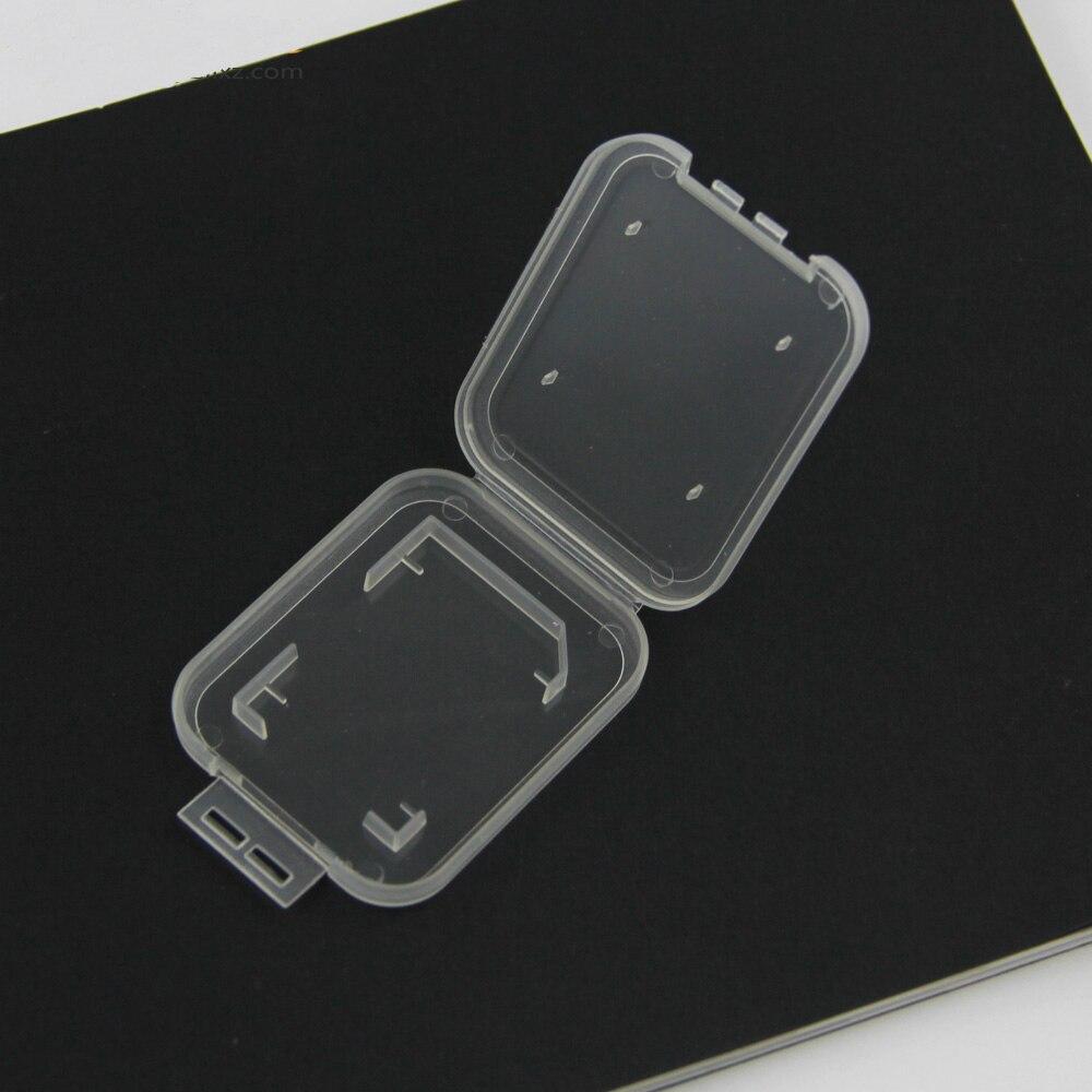 Image 4 - NOYOKERE Новый Лидер продаж 10 шт. SD SDHC держатель защитного кожуха карты памяти прозрачный пластиковый ящик для хранения-in Чехлы для карт памяти from Компьютер и офис
