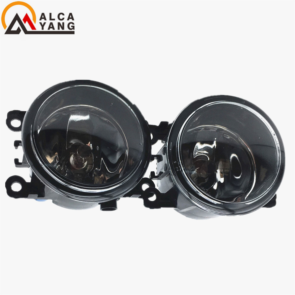 Malcayang angel eyes Car styling LED / Halogen fog lights fog lamps For Fiat PUNTO EVO 2010-2012 12V 2 PCS malcayang fog lights for polo 12v 55w h11 1 set car styling halogen for lexus rx350 awd 2009 2013