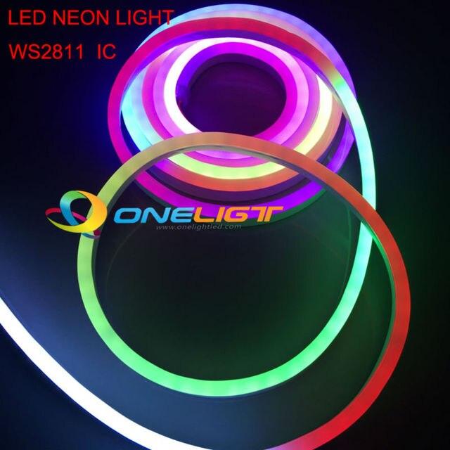 RGB WS2811 LED Full Color Flexible Led Neon Flex Rope Bar