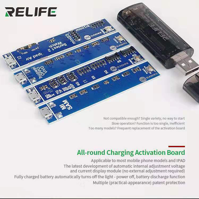 SS-909C Universal Battery Activation Charge Board For Iphone Xiaomi Samsung Huawei Ipad Phone Repair Test Board Tool
