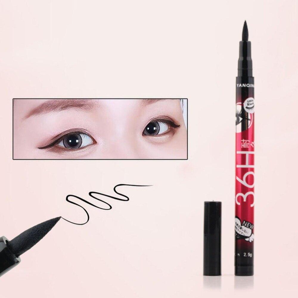 Hot Selling Waterproof Eyeliner Pencil Maquiagem Nieuwe Zwarte  Vloeibare Black Eyeliner Liquid Make Up Beauty Eye Liner Pencil