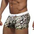 AUSTINBEM Brand Men Trunks Swimwear Swimsuit Beach Nylon Man Boxer Shorts Bathing Suit Beachwear Board Clothing