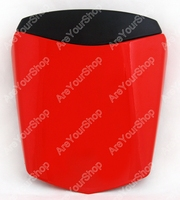 Sale Red Universal Motorcycle Rear Seat Cover Cowl Solo Motor Seat Cowl Rear Pillion Fairing Set