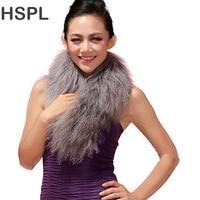 CDS134 2014 New Arrival Tibetan Sheep Fur Scarf Mongolian Lamb Fur Scarf WHITE BLACK GREY BROWN