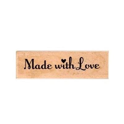 Free shipping JWHCJ vintage strip wooden rubber stamp Kids DIY Handmade Scrapbook Photo Album, students Stamps Arts, Crafts gift