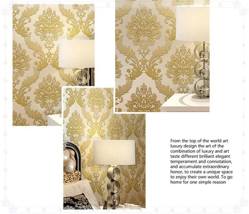 PVC Wallpaper Modern Minimalist Work Roll Background Wall Paper ...