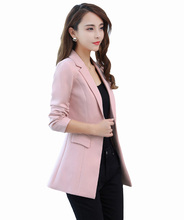 Blazer Feminino Manga Longa New Full Flying Roc 2019 Hot Sale Woman Sleeve Blazer Office Jacket Casual Fashion Style Clothing