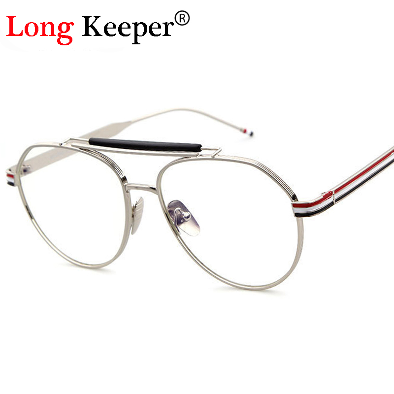 ✅Long Keeper High Quality Round Glasses Frame Vintage Women Optical ...