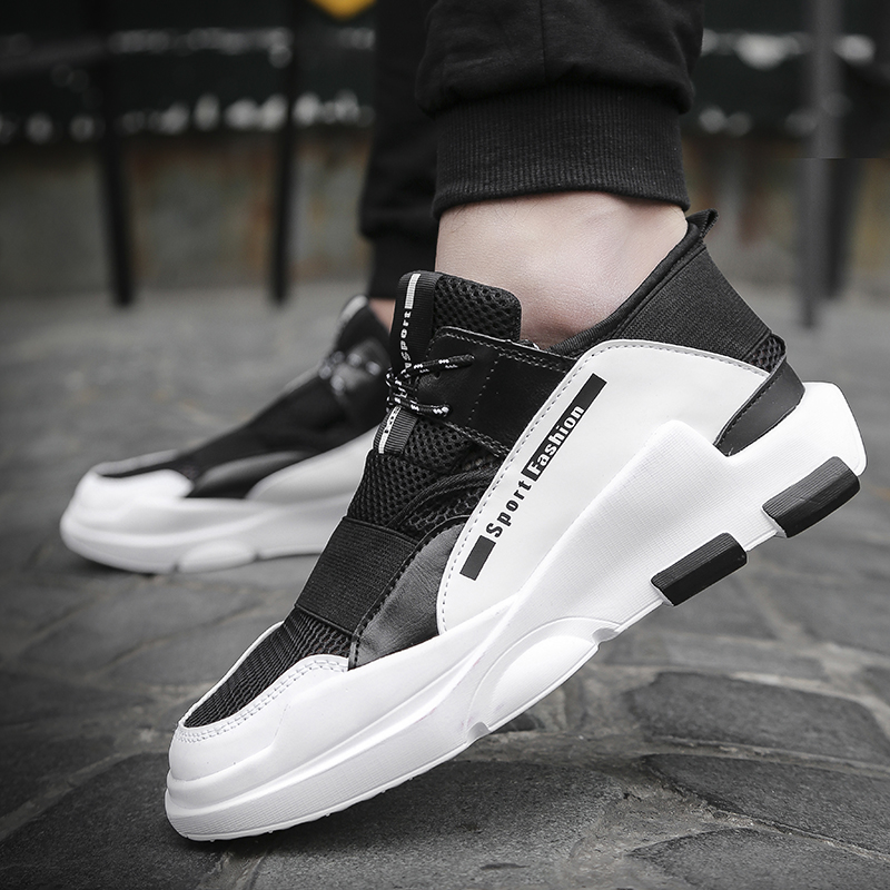 HTB1nOT3a1L2gK0jSZFmq6A7iXXaq Male Sneakers Men Casual Shoes Walking Driving Office Outdoor Shoes Flat Comfortable Lightweight Breathable Shoes For Man Spring