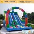 Colorido Inflable Diapositiva Diapositiva Seca Inflable para Niños y Adultos