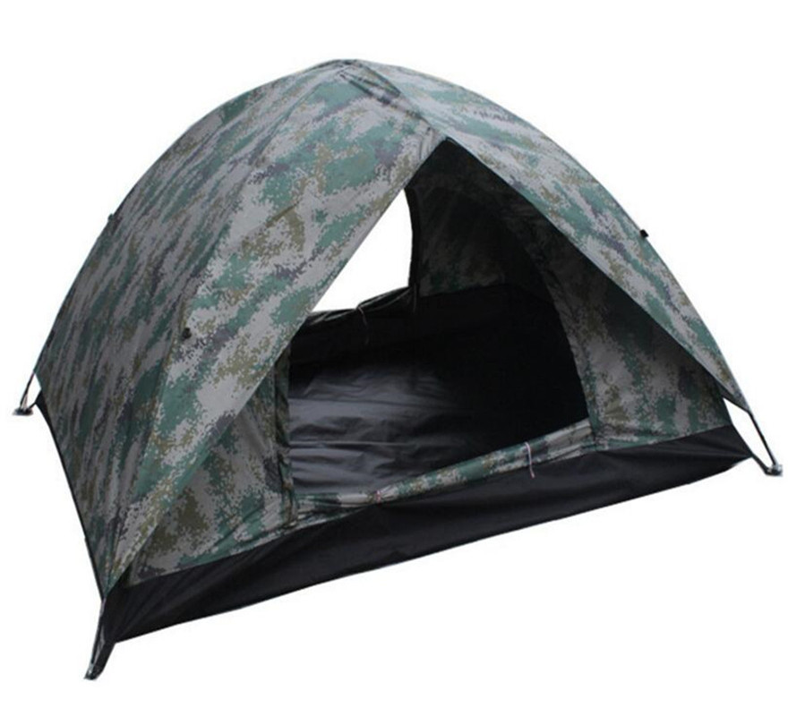 Outdoor Camping Camouflage Double Layer Ultralight Ice Fishing Tent Winter Tent Gazebo Sun Shelter 2 Person 4 Season alltel high quality double layer ultralarge 4 8person family party gardon beach camping tent gazebo sun shelter