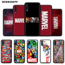 WEBBEDEPP класса люкс с логотипом комиксов Marvel мягкий чехол для телефона для samsung A50s A40s A30s A20s A10s A60 A70 M10 M20 M30 M40 чехол s
