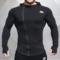 Body Engineers 2017 Men S Shark Wear Print Long Sleeve T Shirt Gyms Sweatshirt Tops T