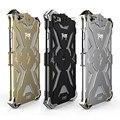 Novo Design de Simon THOR HOMEM DE FERRO de Metal de Alumínio de Luxo Resistente Poeira Pesada casos de telefone armadura capa para iphone 5 5s 6 6 s 7 plus case