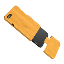 "Natural Handmade Bamboo Wood Wooden Hard Back Phone Case Cover For iPhone 7/ 6 / 6 Plus Environmental Protective Shell 4.7"" 5.5"