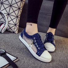 Mhysa 2019 New spring and summer fashion mesh women's shoes students hollow