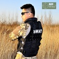 Military Swat Tactical Police Vest Men CS/Hunting Paintballs Sportswear Outdoors Outerwear New 2016 a0331DBO