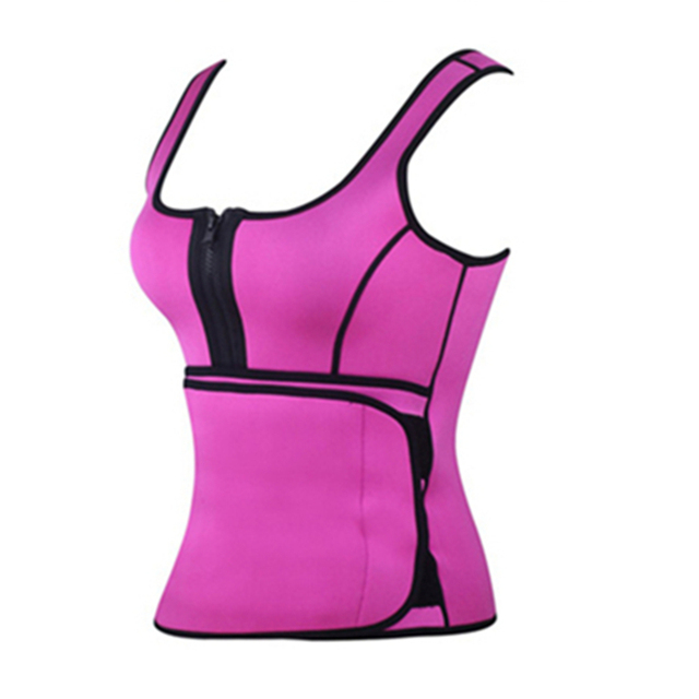 1da24b5c82d54 Hot Shapers Women Sport Top Gym Sauna Sweat Neoprene Body Shaper Women  Slimming Thermo Push Up Vest Waist Trainer Cincher Corset