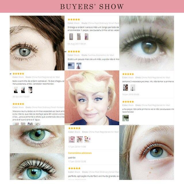 Menow New Makeup Curling Mascara Large-capacity False Eyelashes Waterproof Anti-sweat Anti-grease Cosmetic Eyes make up 5