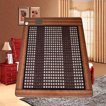2016 Hot Heating Jade Cushion Mattress Natural Tourmaline Mat Physical Therapy Mat korea heated mattress 3 Size for You Choice