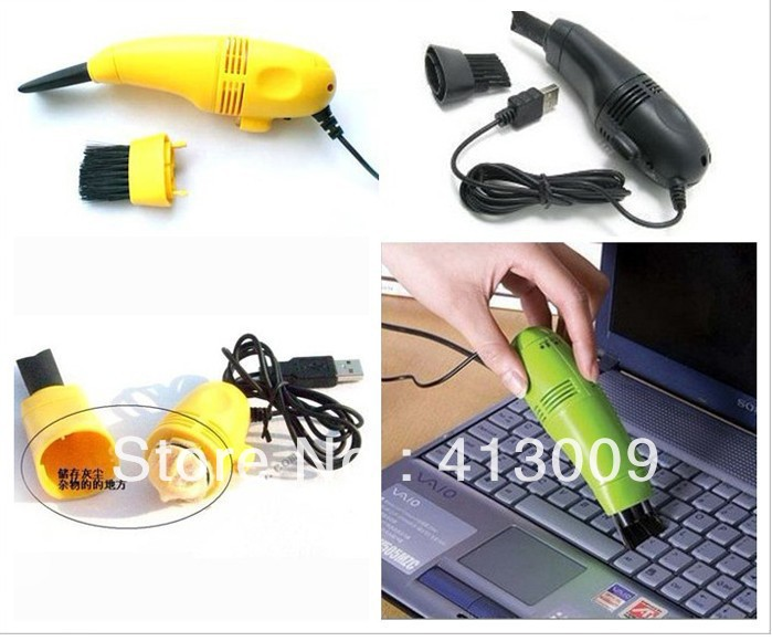 Mini Computer USB Vacuum Keyboard Cleaner for PC Laptop Computer Dust Collector